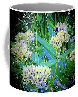 More Bees In Blooms Coffee Mug