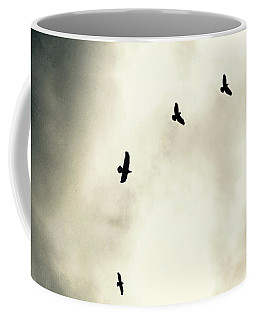 Big Sky Crows Coffee Mug