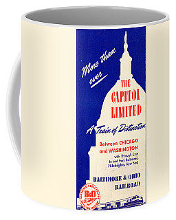 More Than Ever, The Capitol Limited Coffee Mug