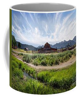 Mormon Row Morning Coffee Mug