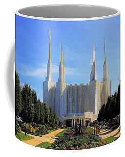Mormon Temple Dc Coffee Mug