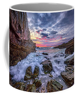 Morning At Bald Head Cliff Coffee Mug by Rick Berk
