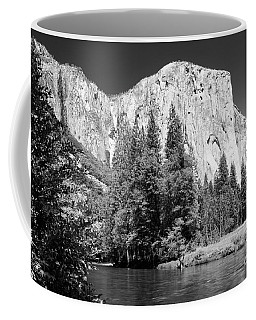 Coffee Mug featuring the photograph Morning At El Capitan by Sandra Bronstein