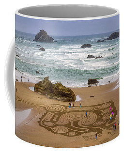 Coffee Mug featuring the photograph Morning At The Dreamfield by Darren White