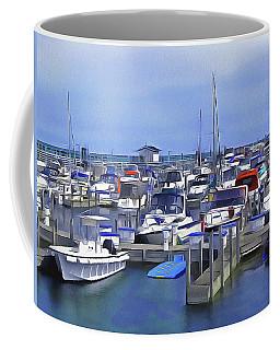 Morning At The Marina 1 Coffee Mug