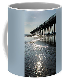 Morning At The Pier Coffee Mug