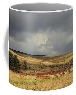 Morning At The Tallgrass Prairie Coffee Mug