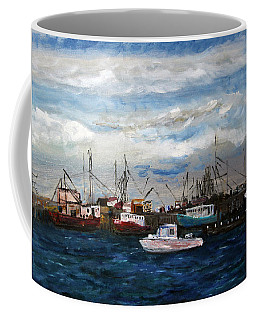 Morning At The Wharf Coffee Mug