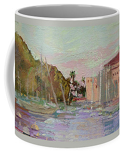 Morning Avalon Harbor - Catalina Island Coffee Mug