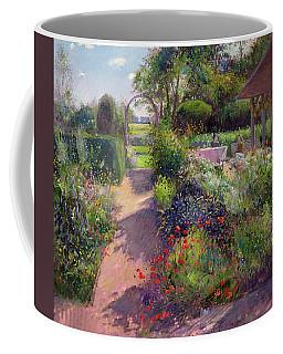 Morning Break In The Garden Coffee Mug