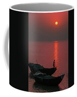 Morning Breaks Coffee Mug