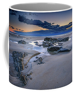 Coffee Mug featuring the photograph Morning Calm On Wells Beach by Rick Berk