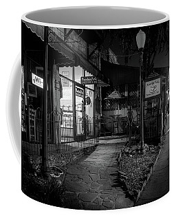 Morning Coffee In Black And White Coffee Mug