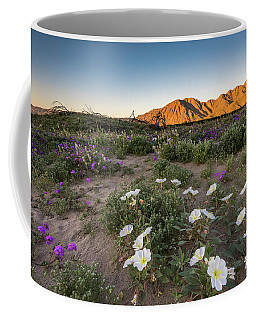 Morning Desert Evening Primrose Coffee Mug