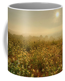 Morning Dew At Kendall Hills  Coffee Mug