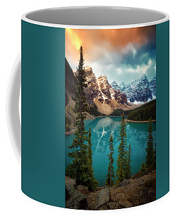 Morning Eruption  Coffee Mug