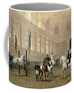 Morning Exercise In The Hofreitschule Coffee Mug