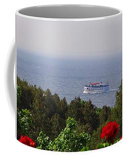 Morning Ferry To Mackinac Island Coffee Mug
