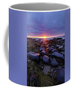 Morning Fire, Sunrise On The New Hampshire Seacoast  Coffee Mug