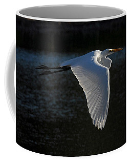 Coffee Mug featuring the photograph Morning Flight by Howard Bagley