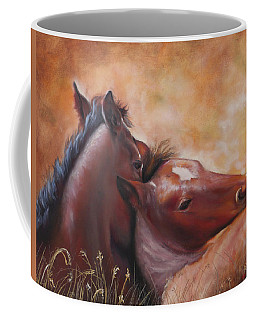 Morning Foals Coffee Mug