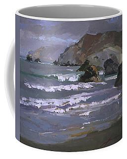 Morning Fog Shark Harbor - Catalina Island Coffee Mug