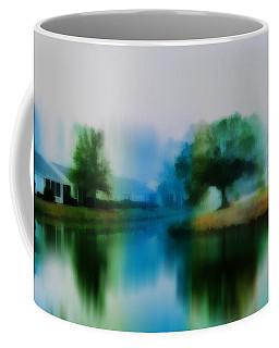 Morning Fog In Sun City Coffee Mug by Frank Bright