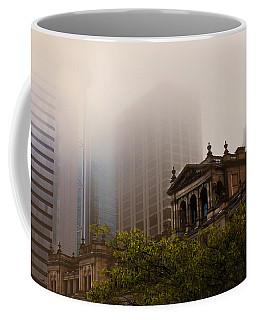 Morning Fog Over The Treasury Coffee Mug