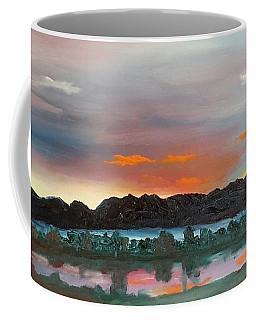 Morning Fog Silver Star  Coffee Mug