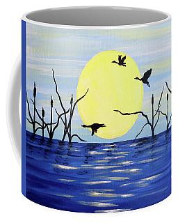 Morning Geese Coffee Mug