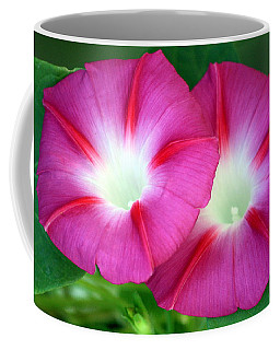 Morning Glories Coffee Mug by Sheila Brown
