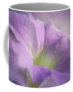 Morning Glory Coffee Mug by Ann Lauwers