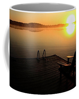 Morning Glory At The Lake Coffee Mug