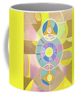 Morning Glory Geometrica Coffee Mug