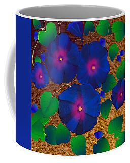 Morning Glory Coffee Mug by Latha Gokuldas Panicker