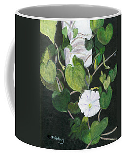 Coffee Mug featuring the painting Morning Glory by Linda Feinberg