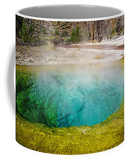 Morning Glory Pool Yellowstone National Park Coffee Mug