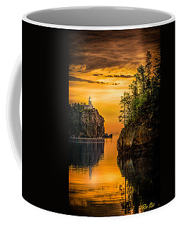 Coffee Mug featuring the photograph Morning Glow Against The Light by Rikk Flohr