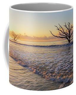 Morning Glow At Botany Bay Beach Coffee Mug