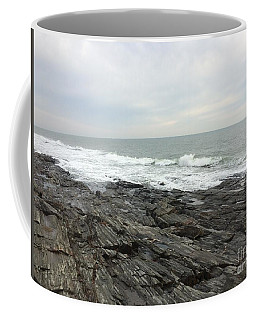 Morning Horizon On The Atlantic Ocean Coffee Mug