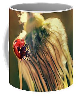Morning Impresion With Ladybug Coffee Mug