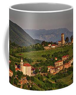 Coffee Mug featuring the photograph Morning In Brda - Slovenia by Stuart Litoff