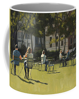 Morning In Bryant Park Two Coffee Mug