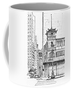 Morning In Chinatown Coffee Mug