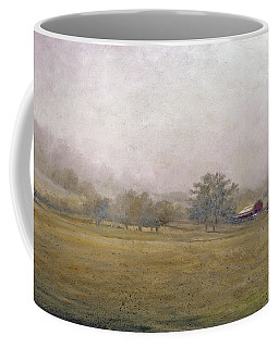 Coffee Mug featuring the painting Morning In Georgia by Andrew King