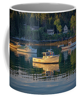 Coffee Mug featuring the photograph Morning In Tenants Harbor by Rick Berk