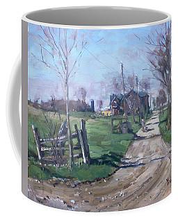 Morning In The Farm Georgetown Coffee Mug
