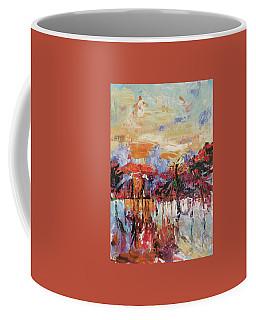 Morning In The Garden Coffee Mug by Kovacs Anna Brigitta