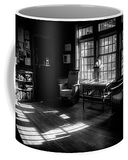 Morning In The Keith House In Black And White Coffee Mug