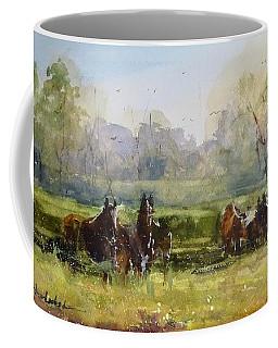 Morning In The Pasture Coffee Mug